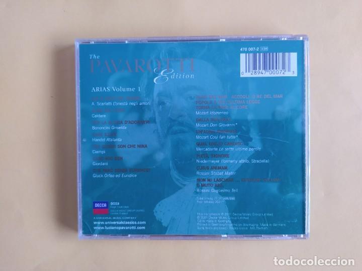 CDs de Música: THE PAVAROTTI EDITION - ARIAS CD MUSICA - Foto 2 - 245311820