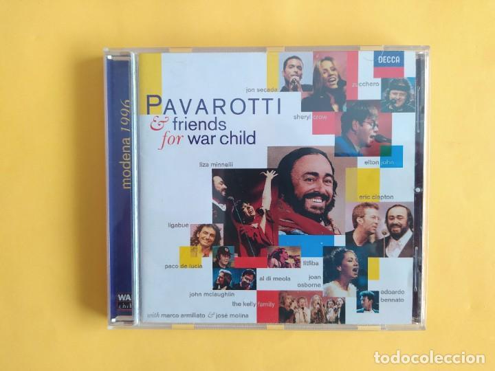PAVAROTTI & FRIENDS - FOR WAR CHILD CD MUSICA (Música - CD's Clásica, Ópera, Zarzuela y Marchas)