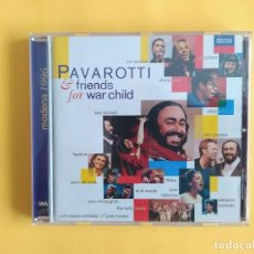 CDs de Música: PAVAROTTI & FRIENDS - FOR WAR CHILD CD MUSICA. Lote 245311985