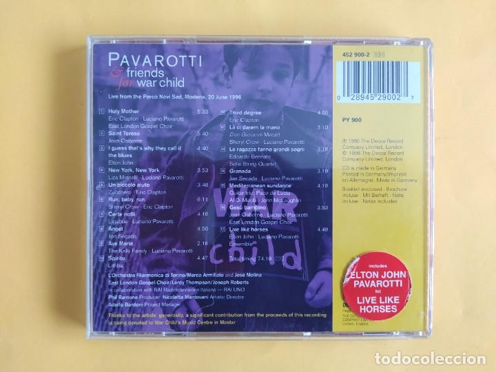CDs de Música: PAVAROTTI & FRIENDS - FOR WAR CHILD CD MUSICA - Foto 2 - 245311985