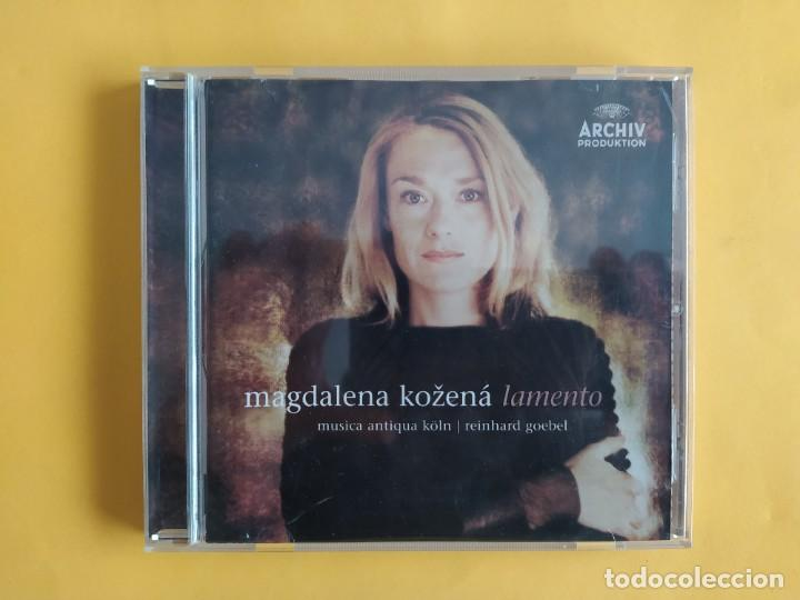 MAGDALENA KOZENA - LAMENTO CD MUSICA (Música - CD's Clásica, Ópera, Zarzuela y Marchas)
