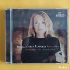 CDs de Música: MAGDALENA KOZENA - LAMENTO CD MUSICA. Lote 245312080