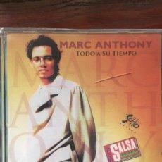 CDs de Música: MARC ANTHONY-TODO A SU TIEMPO-1995-SOHO LATINO SONY SALSA-PRECINTADO NUEVO-RARA VERSION. Lote 245359970