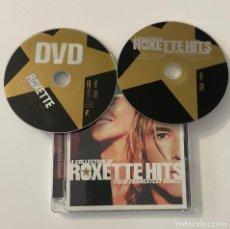 CDs de Música: ROXETTE HITS CD + DVD LIMITED EDITION PER GESSLE MARIE FREDRIKSSON. Lote 245366320
