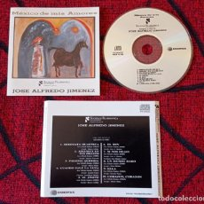 CDs de Música: SOCIEDAD FILARMONICA DE CONCIERTOS *INTERPRETA A JOSE ALFREDO JIMENEZ* MEXICO CD. Lote 245366395