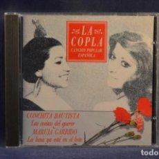 CDs de Música: CONCHITA BAUTISTA / MARUJA GARRIDO - LAS COSITAS DEL QUERER / LA LUNA YA ESTÁ EN EL BOTE - CD. Lote 245366745