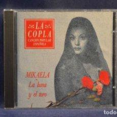 CDs de Música: MIKAELA - LA LUNA Y EL TORO - CD. Lote 245366980