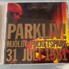 CDs de Música: GYLLENE TIDER PARKLIV! CD ROXETTE PER GESSLE MARIE FREDRIKSSON. Lote 245367190