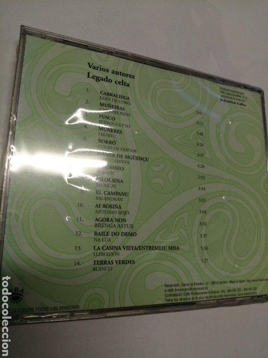 CDs de Música: LEGADO CELTA Asturias y Galicia 14 éxitos originales NUEVO PRECINTADO - Foto 2 - 245368325