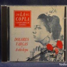 CDs de Música: DOLORES VARGAS - A-CHI-LI-PU - CD. Lote 245368875