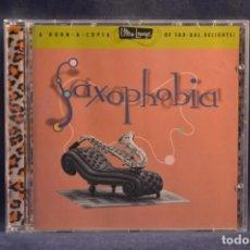 CDs de Música: VARIOS - SAXOPHOBIA - CD. Lote 245371155