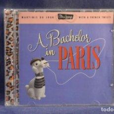 CDs de Música: VARIOS - A BACHELOR IN PARIS - CD. Lote 245373565