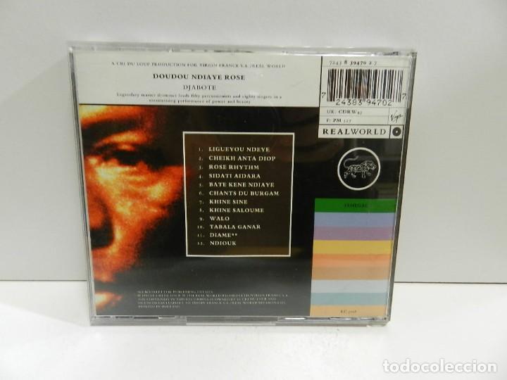 CDs de Música: DISCO CD. Doudou Ndiaye Rose – Djabote. COMPACT DISC. - Foto 2 - 245381865