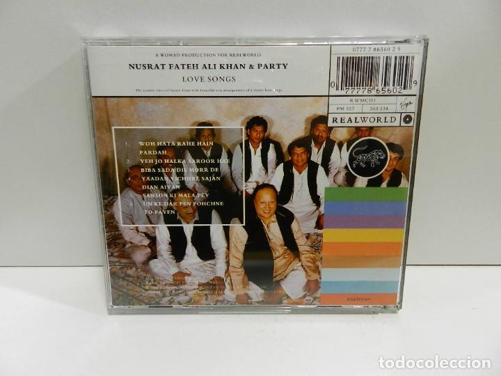 CDs de Música: DISCO CD. Nusrat Fateh Ali Khan & Party ‎– Devotional And Love Songs. COMPACT DISC. - Foto 2 - 245382235