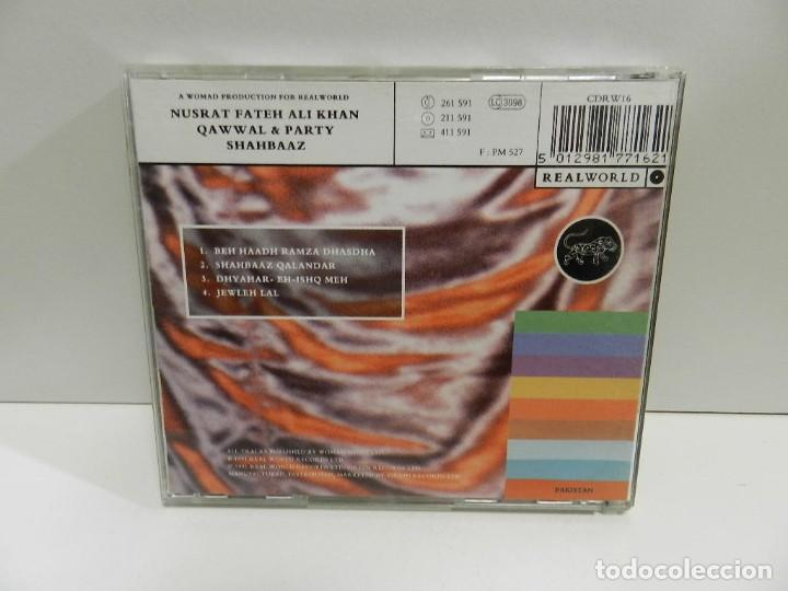 CDs de Música: DISCO CD. Nusrat Fateh Ali Khan - Qawwal And Party – Shahbaaz. COMPACT DISC. - Foto 2 - 245382505