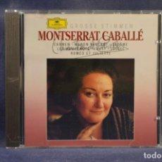 CDs de Música: MONTSERRAT CABALLÉ - GROSSE STIMMEN - CD. Lote 245385235