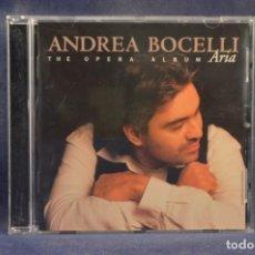 CDs de Música: ANDREA BOCELLI - ARIA / THE OPERA ALBUM - CD. Lote 245386300