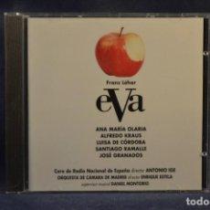 CDs de Música: FRANZ LEHÁR, ALFRED MARIA WILLNER, ROBERT BODANZKY - EVA - CD. Lote 245388160