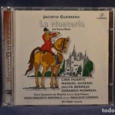 CDs de Música: JACINTO GUERRERO - LA MONTERÍA - CD. Lote 245389695