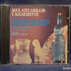 CDs de Música: ALHAMBRA - VARIOS (GRAN ORQUESTA SINFÓNICA) - AGUA, AZUCARILLOS Y AGUARDIENTE - CD. Lote 245390950