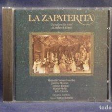 CDs de Música: MARIA DEL CARMEN / JOSEFINA MENESES / ANTONIO BLANCAS / RICARDO M. / JULIO C. - LA ZAPATERITA - CD. Lote 245393610
