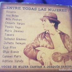 CDs de Música: SABINA ENTRE TODAS LAS MUJERES 2003 CD TRIBUTO VOCES DE MUJERES CANTAN A JOAQUÍN SABINA :. Lote 245423135