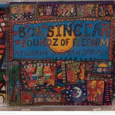 CDs de Música: BOB SINCLAR – SOUNDZ OF FREEDOM (MY ULTIMATE SUMMER OF LO♥E MIX). Lote 245440710