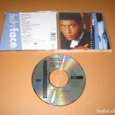 CDs de Música: BABYFACE ( A CLOSER LOOK ) - CD - 469348 2 - EPIC - I LOVE YOU BABE - MY KINDA GIRL - LOVERS .... Lote 245445720
