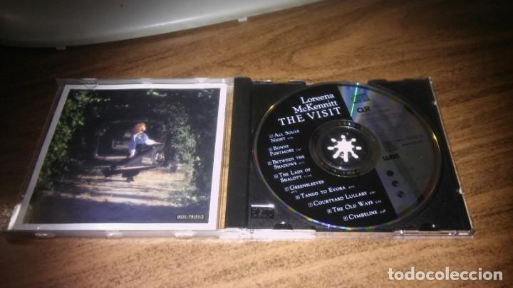 CDs de Música: LOREENA McKENNITT - THE VISIT (ED. UE 1991) - Foto 2 - 245447015