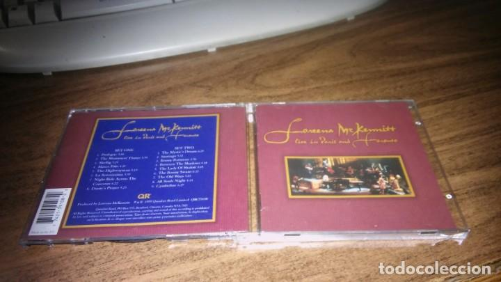 LOREENA MCKENNITT - LIVE IN PARIS AND TORONTO (2 CD EN DIRECTO) (Música - CD's New age)
