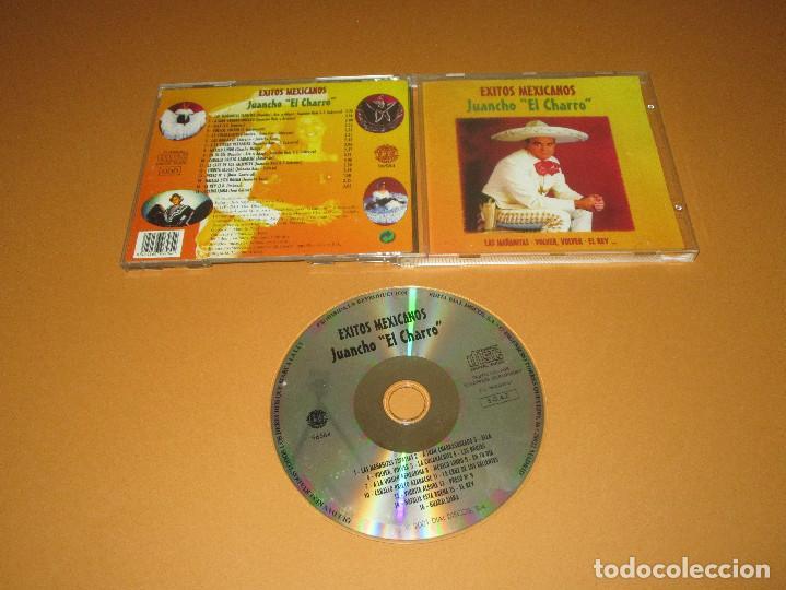 EXITOS MEXICANOS ( JUANCHO EL CHARRO ) - CD - 96584 - LAS MAÑANITAS - VOLVER VOLVER - EL REY ... (Música - CD's Latina)