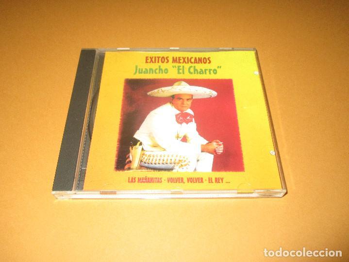 CDs de Música: EXITOS MEXICANOS ( JUANCHO EL CHARRO ) - CD - 96584 - LAS MAÑANITAS - VOLVER VOLVER - EL REY ... - Foto 2 - 245448200