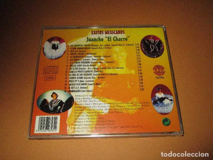 CDs de Música: EXITOS MEXICANOS ( JUANCHO EL CHARRO ) - CD - 96584 - LAS MAÑANITAS - VOLVER VOLVER - EL REY ... - Foto 3 - 245448200