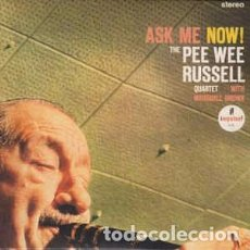 CDs de Música: THE PEE WEE RUSSELL QUARTET* WITH MARSHALL BROWN - ASK ME NOW! (CD, ALBUM, LTD, RE, RM) LABEL:VERVE. Lote 245453680