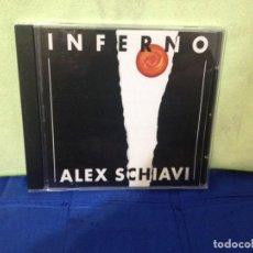 CDs de Música: ALEX SCHIAVI - INFERNO (ELECTRO, SYNTH-POP) ALBUM CD 1991. NM-NM. Lote 245455140