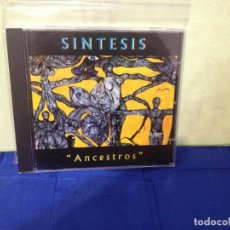 CDs de Música: SINTESIS - ANCESTROS (LATIN, ROCK, JAZZ, CUBA) ALBUM CD 1994. NM-NM. Lote 245455385