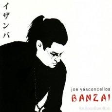 CDs de Música: JOE VASCONCELLOS - BANZAI. Lote 245456510