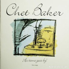CDs de Música: CHET BAKER - AS TIME GOES BY. Lote 245465885