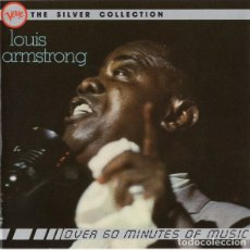 CDs de Música: LOUIS AMSTRONG - VERVE THE SILVER COLLECTION. Lote 245469425