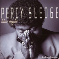 CDs de Música: PERCY SLEDGE - BLUE NIGHT. Lote 245470775