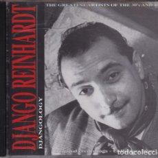 CDs de Música: DJANGO REINHARDT - DJANGOLOGY. Lote 245471355