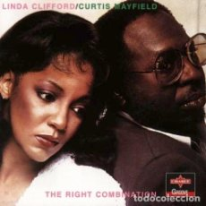 CDs de Música: CURTIS MAYFIELD & LINDA CLIFFORD - THE RIGHT COMBINATION. Lote 245473695