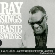 CDs de Música: RAY CHARLES & COUNT BASIE ORCHESTRA - RAY SINGS BASIE SWINGS. Lote 245474635