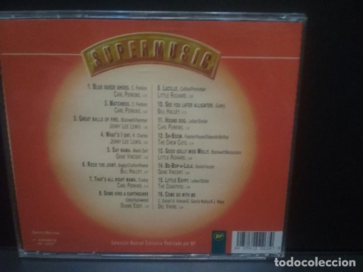 CDs de Música: SUPERMUSIC MAS ROCK - CD - FATS DOMINO - ESQUERITA - PAT BOONE - CHUCK BERRY - COMO NUEVO pepeto - Foto 2 - 245490090