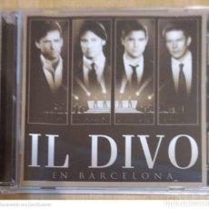 CDs de Música: IL DIVO (EN BARCELONA) CD + DVD 2009. Lote 245501190