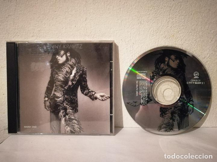 CD ORIGINAL - LENNY KRAVITZ - ROCK - MAMA SAID (Música - CD's Rock)