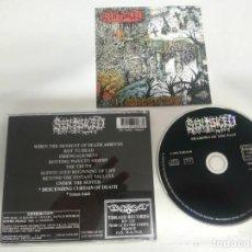 CDs de Música: SENTENCED SHADOWS OF THE PAST 1992 RAREZA EN MUY BUEN ESTADO ENTRE Y MIRE LAS FOTOS. Lote 245505150
