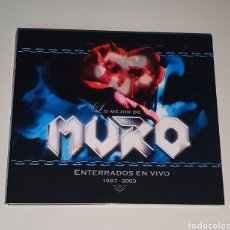 CDs de Música: MURO / CD DIGIPACK / ENTERRADOS EN VIVO (1987-2003). Lote 245521655