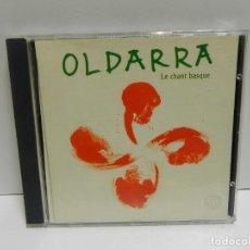 CDs de Música: DISCO CD. OLDARRA – LE CHANT BASQUE. COMPACT DISC.. Lote 245534340