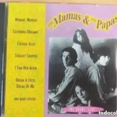 CDs de Música: MAMAS AND THE PAPAS - THE GREAT LIVE (CD). Lote 245581270
